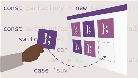 course illustration for JavaScript: Patterns