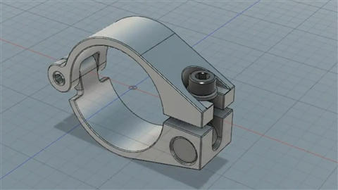 course illustration for Fusion 360: Designing for Metal