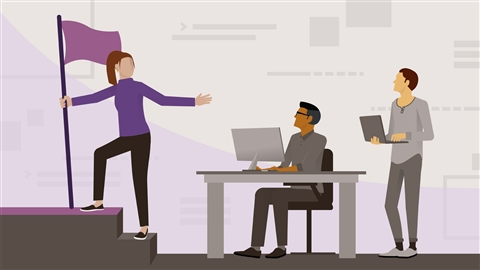 course illustration for Tech Career Skills: Moving from Developer to Engineering Manager