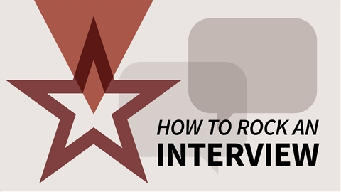 course illustration for How to Rock an Interview