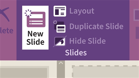 course illustration for Learning PowerPoint Online (Office 365)