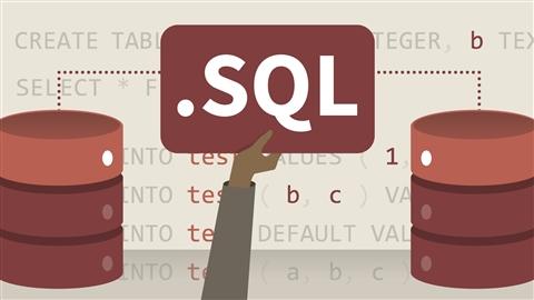 course illustration for SQL Essential Training