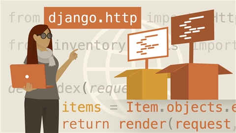 course illustration for Learning Django