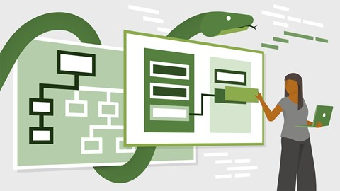 course illustration for Python Object-Oriented Programming