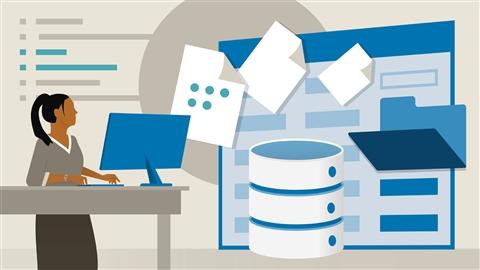 course illustration for Learning MySQL Development