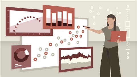 course illustration for Data Visualization for Data Analysis and Analytics