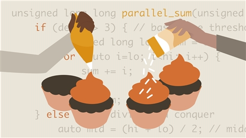 course illustration for Parallel and Concurrent Programming with C++ Part 2