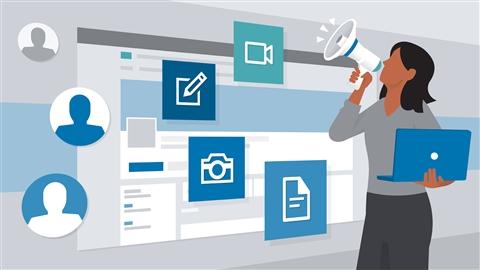 course illustration for Employer Branding on LinkedIn