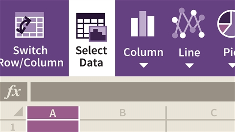 course illustration for Learning Excel for the web (Office 365/Microsoft 365)