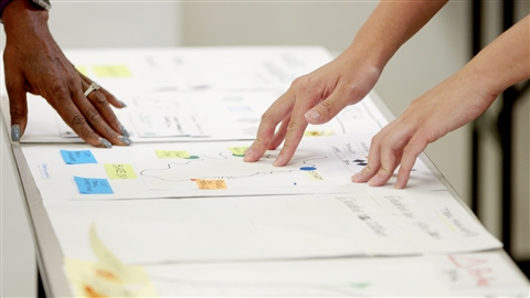course illustration for Design Thinking: Understanding the Process