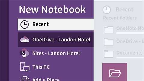 course illustration for OneNote 2016 Essential Training