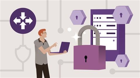 course illustration for Cisco CCNP ENARSI (300-410) Cert Prep: 3 Infrastructure Security