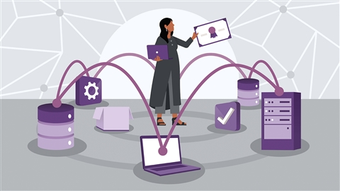 course illustration for Cisco DevNet Associate Cert Prep 6: Network Fundamentals