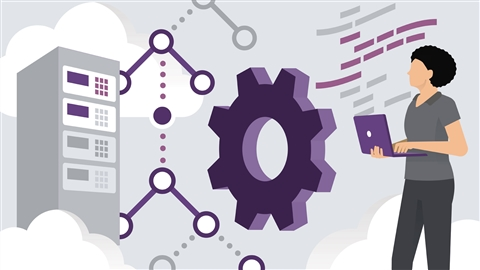 course illustration for Cisco DevNet Associate Cert Prep 5: Infrastructure and Automation