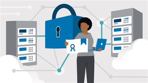course illustration for CompTIA Security+ (SY0-601) Cert Prep: 8 Network Security Design and Implementation