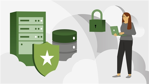 course illustration for Learning Azure Network Security