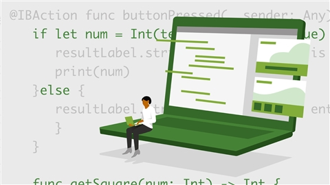 course illustration for Xcode 12 Essential Training