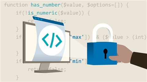 course illustration for PHP: Creating Secure Websites