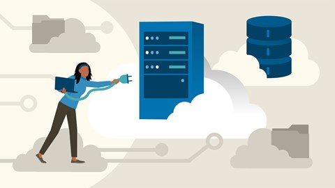 course illustration for Azure Administration: Implement and Manage Storage