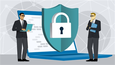 course illustration for CompTIA Security+ (SY0-601) Cert Prep: 7 Endpoint Security Design and Implementation