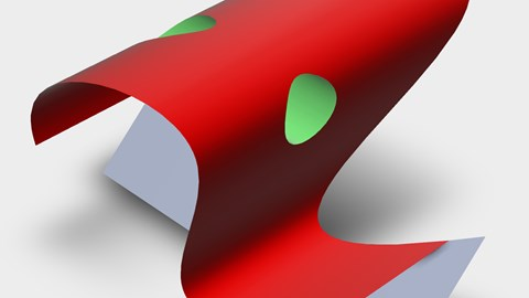 course illustration for SOLIDWORKS: Surfacing