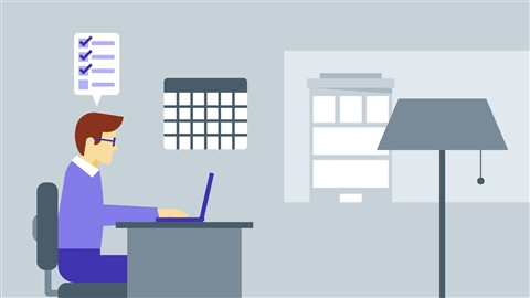 course illustration for Tips for Working Remotely