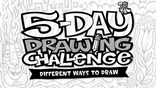 watch trailer video for 5-Day Drawing Challenge: Different Ways to Draw