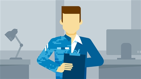 course illustration for Translating Your Military Skills to Civilian Workplace