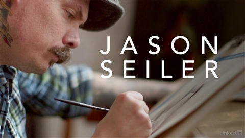 course illustration for Jason Seiler: Digital and Traditional Painter