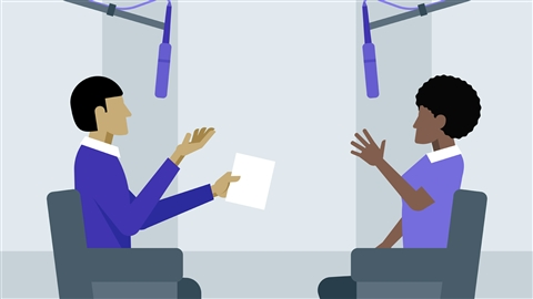course illustration for Public Relations Foundations: Media Training