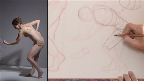 course illustration for Drawing Foundations: Figure