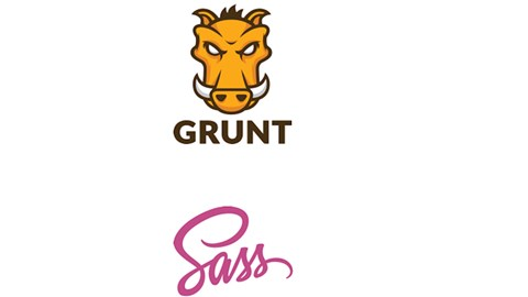 course illustration for WordPress: Developing with Sass and Grunt.js
