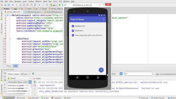 Building a Note-Taking App for Android