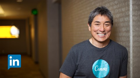 course illustration for Guy Kawasaki on Entrepreneurship