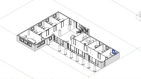 Architecture Drawing Template bluebeam: draw layouts & detail