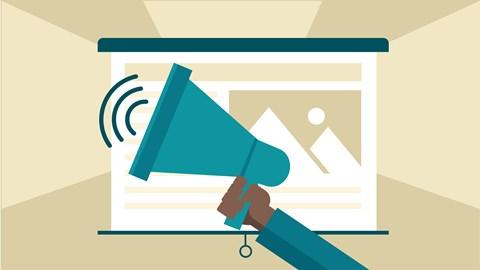 course illustration for Content Marketing: Slides