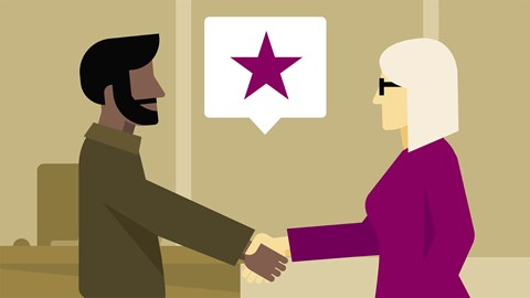 course illustration for Customer Service: Winning Back a Lost Customer