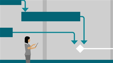 course illustration for Managing Time-Constrained Projects with Microsoft Project