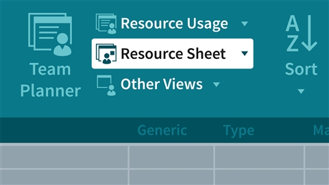 course illustration for Managing Resource-Constrained Projects with Microsoft Project