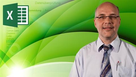 course illustration for Excel 2013: Gültigkeitsregeln und Datenvalidierung