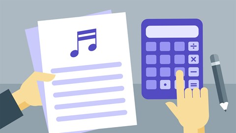 course illustration for Taxes and Accounting for Music