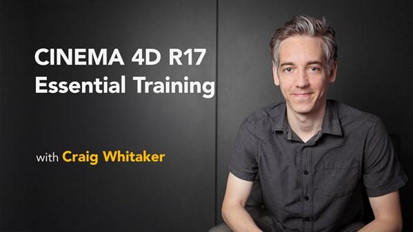 CINEMA 4D R17 Essential Training