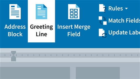 course illustration for Word 2016: Mail Merge in Depth
