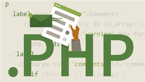 course illustration for Learning PHP (2015)