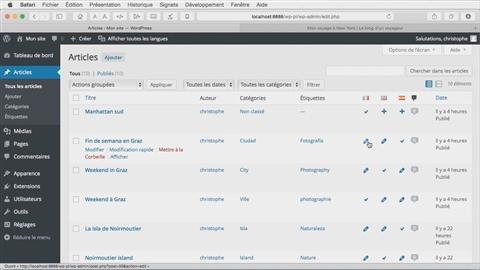 course illustration for Créer un site multilingue avec WordPress