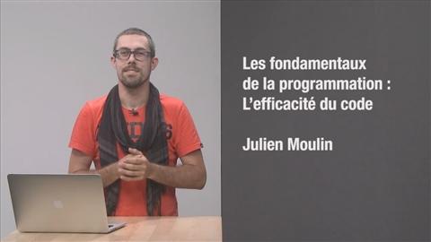 course illustration for Les fondements de la programmation : L'efficacité du code