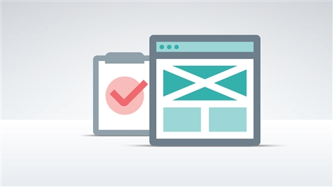 course illustration for User Experience Fundamentals for Web Design
