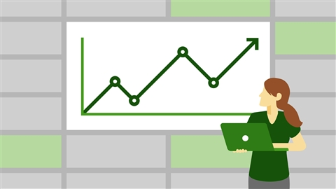 course illustration for Excel Statistics Essential Training: 1 (2016)
