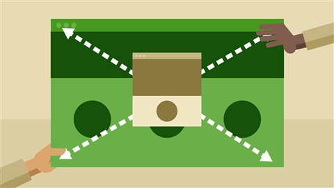 course illustration for Learning Responsive Web Design in the Browser