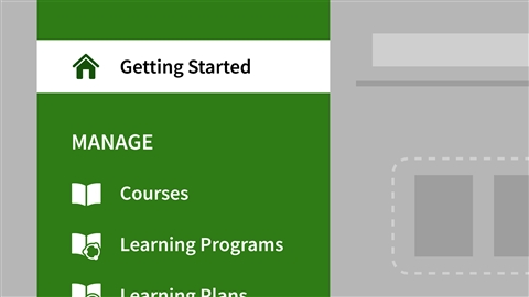 course illustration for Adobe Captivate Prime Essential Training